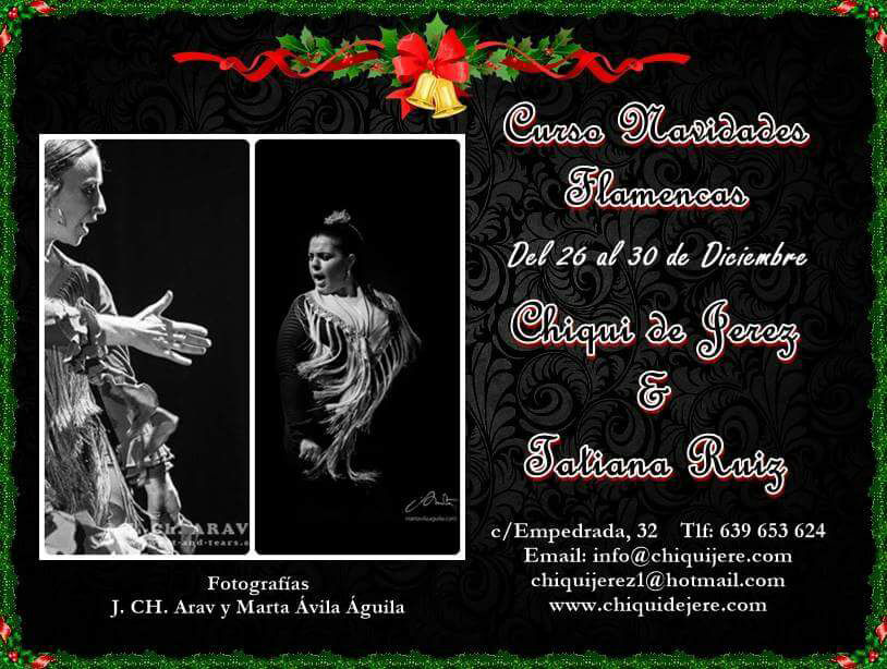 Curso Flamenco Navidad Jerez
